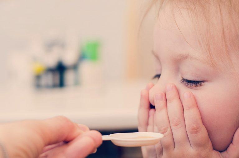 Niños enfermos en el colegio