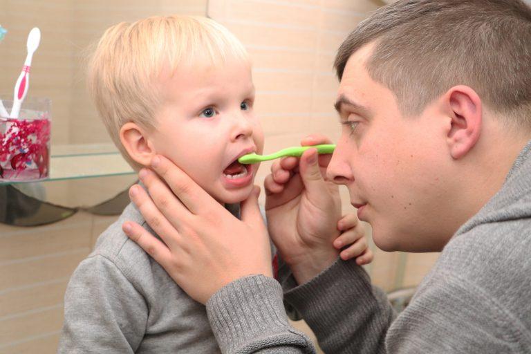 Flúor en la pasta de dientes