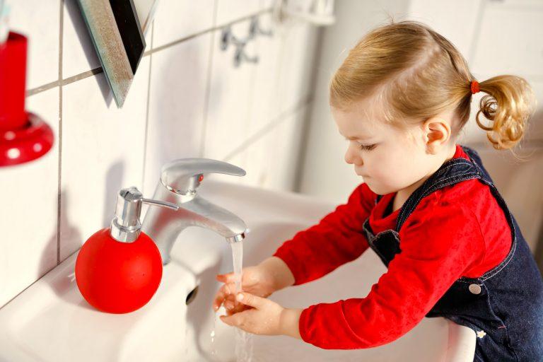 coronavirus en niños - Higiene de manos