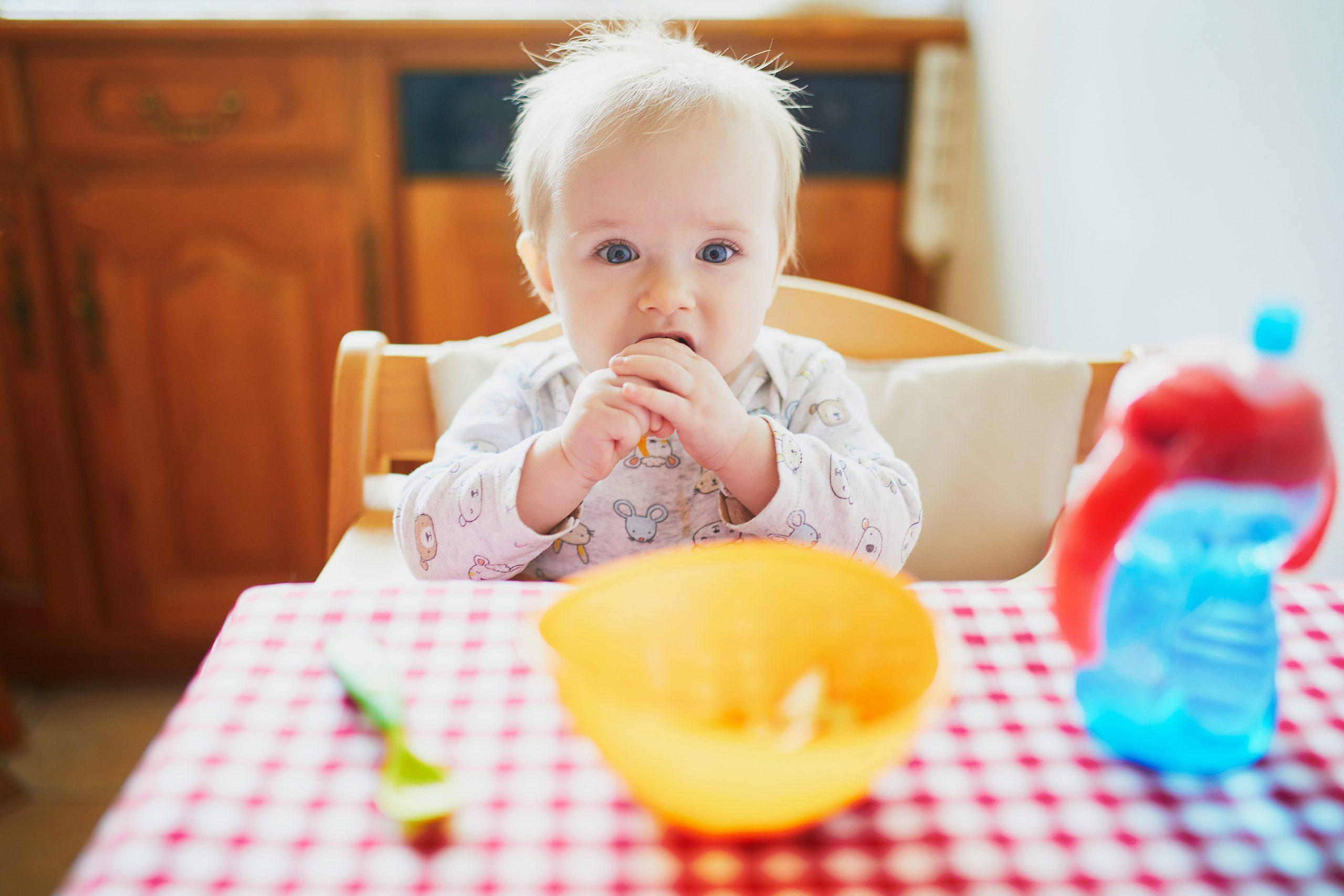 Desayuno en bebé de 6 meses