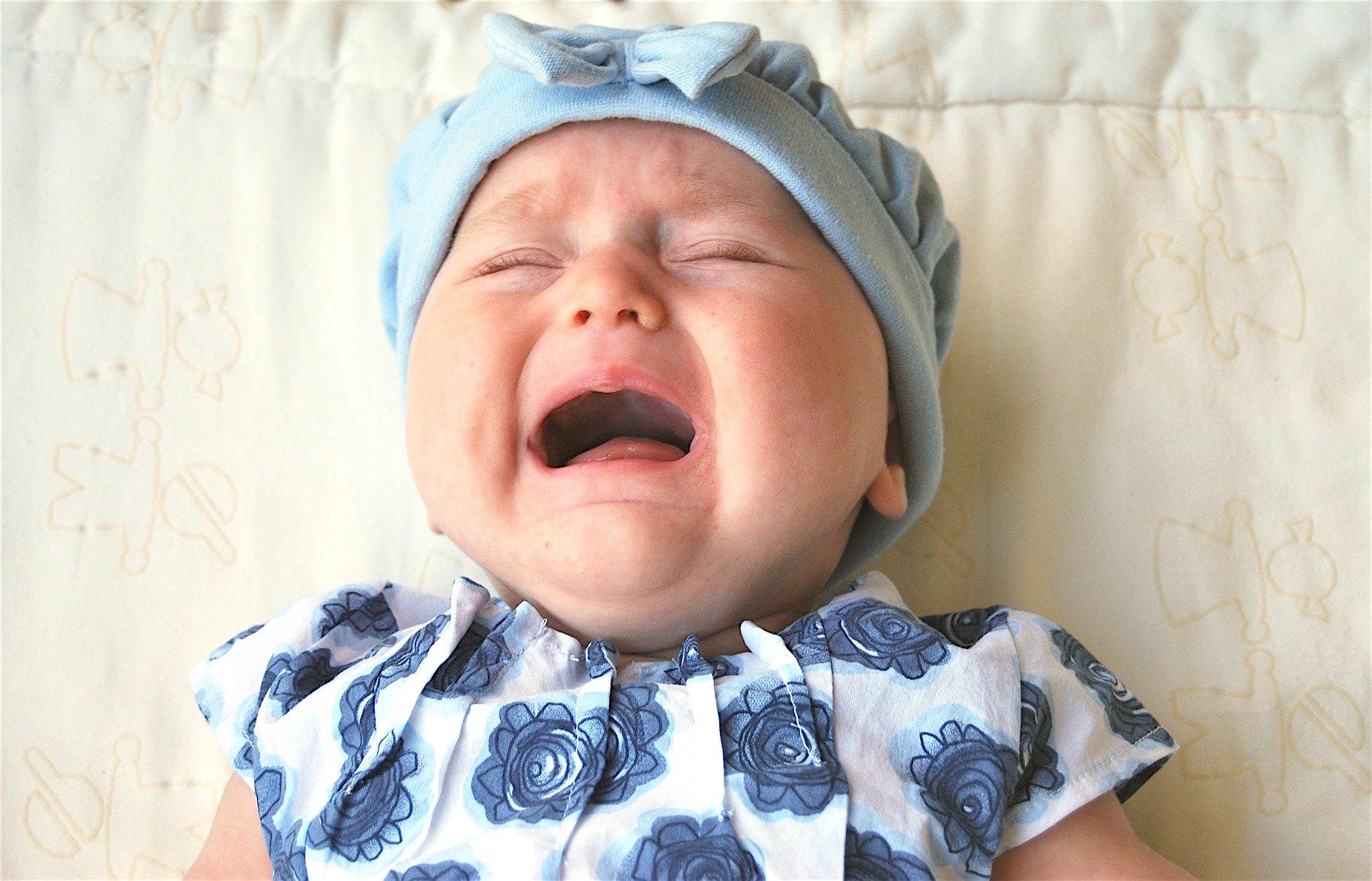 ¿Por qué los bebés lloran sin lágrimas?