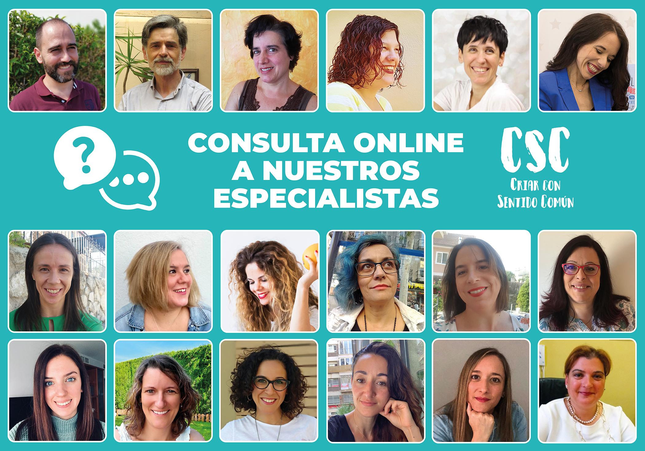 Consulta online a nuestros expertos